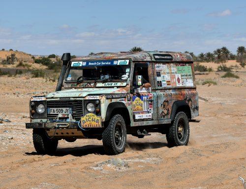 Rallye des Gazelles, Stage 1
